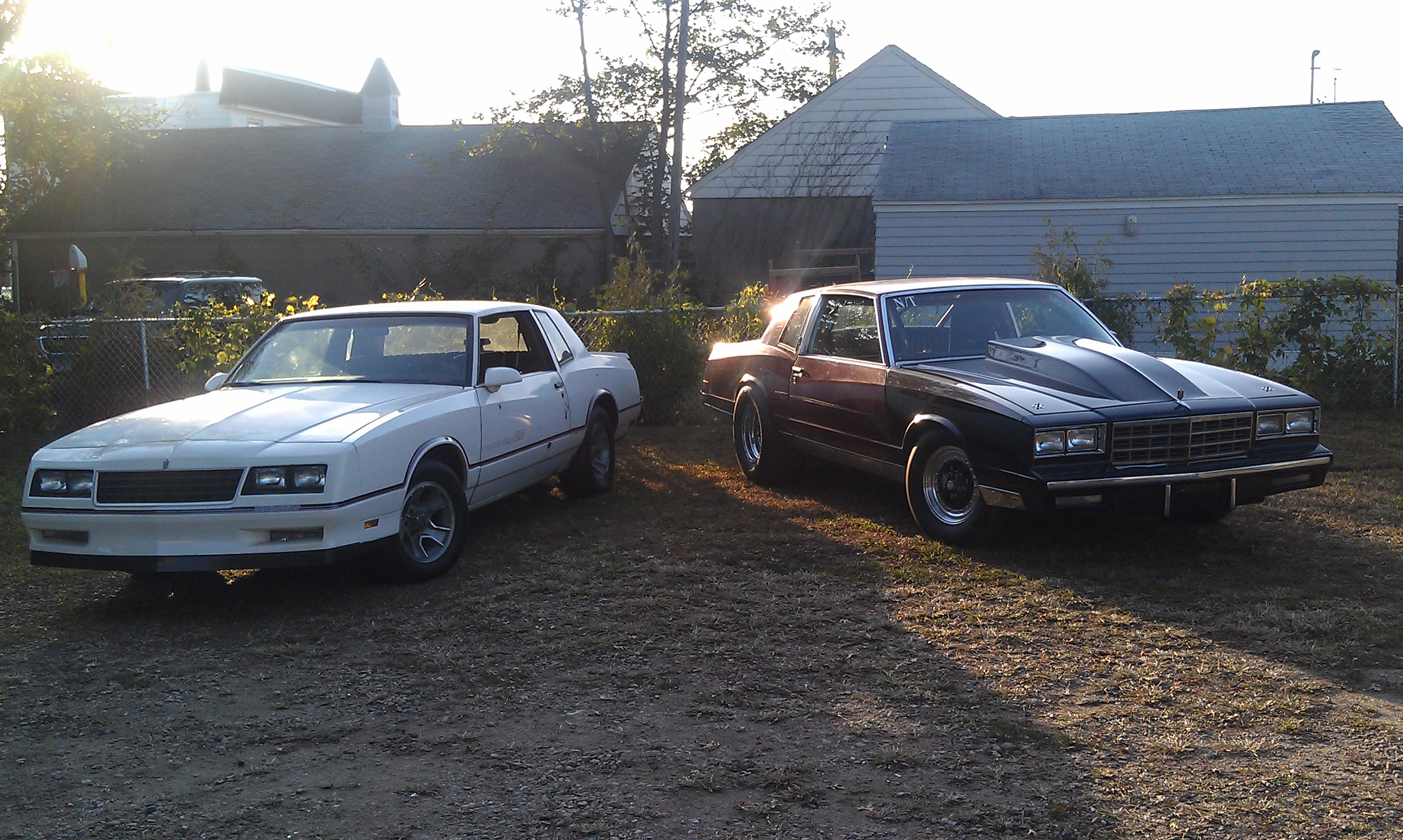 Angelo's 86 SS and 81 SC