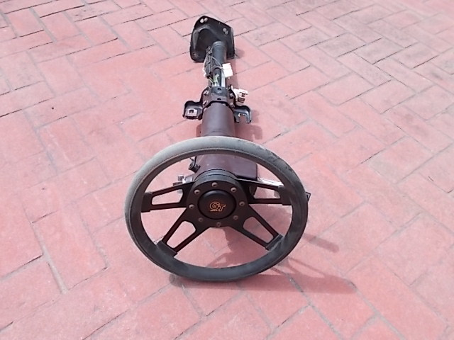 83-88 Burgundy converted Floor Shift Steering Column with or without Grant GT Wheel