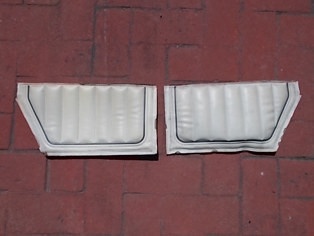 83-84 SS White Lower Sail Panel Inserts (decent)
