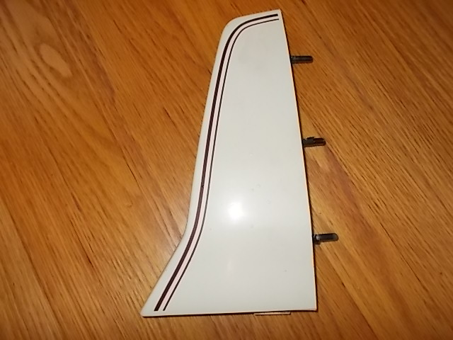81-87 RH Taillight Extensions. white