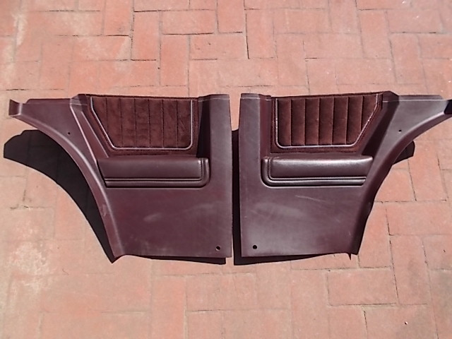 Burgundy Lower Sail Panels w/ Velour Inserts 3