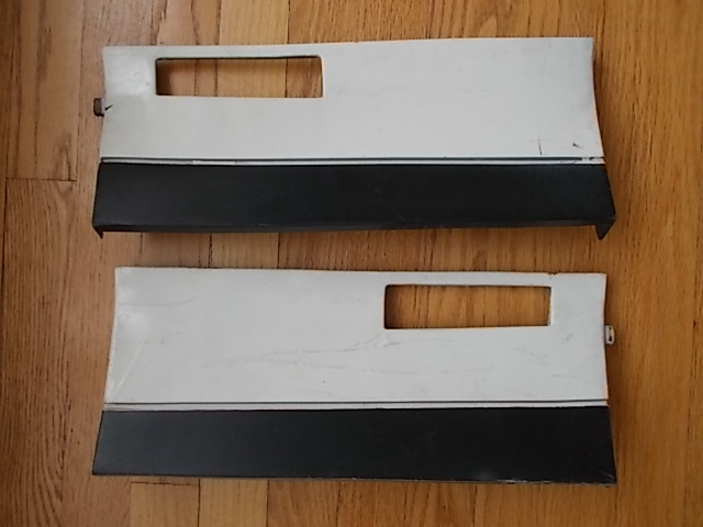 83-88 Monte Carlo SS Lower Fender Extension Set