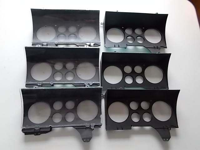 78-88 Shadow Boxes w/ Clear lens (damaged,useable)