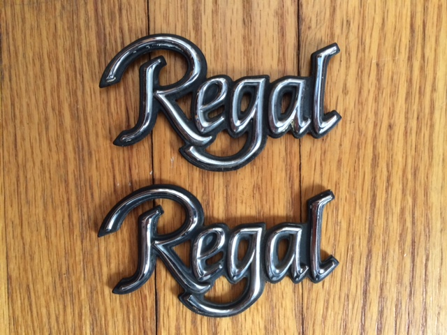 """REGAL"" 1/4 Panel Emblems"